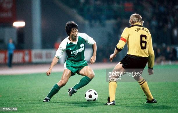 1 Bundesliga 81/82 Yasuhiko OKUDERA / Werder Bremen FotoBONGARTS
