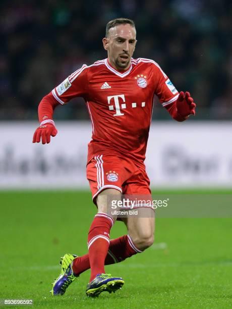 Fussball 1 Bundesliga Saison 2013/2014 15 Spieltag SV Werder Bremen FC Bayern Muenchen Franck Ribery