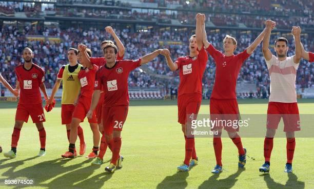 Fussball 1 Bundesliga Saison 2013/2014 2 Spieltag VfB Stuttgart Bayer Leverkusen Bayer Laola Oemer Toprak Roberto Hilbert HeungMin Son Jens Hegeler...