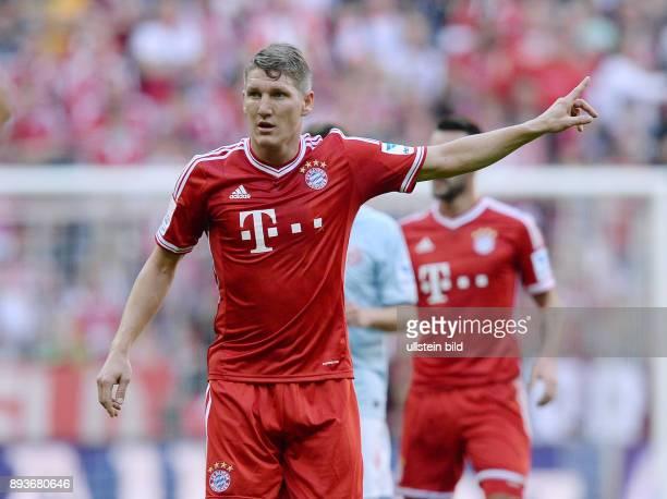 Fussball 1 Bundesliga Saison 2013/2014 9 Spieltag FC Bayern Muenchen 1 FSV Mainz Bastian Schweinsteiger