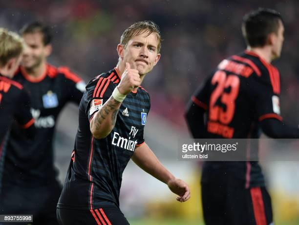 Fussball 1 Bundesliga Saison 2015/2016 19 Spieltag VfB Stuttgart Hamburger SV Hamburger SV Lewis Holtby