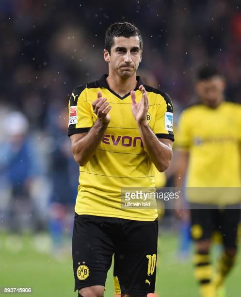 Fussball 1 Bundesliga Saison 2015/2016 6 Spieltag in Sinzheim Hoffenheim Borussia Dortmund Enttaeuschung Borussia Dortmund Henrikh Mkhitaryan