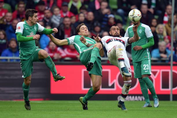 Fussball 1 Bundesliga Saison 1516 Sv Werder Bremen Fc Bayern
