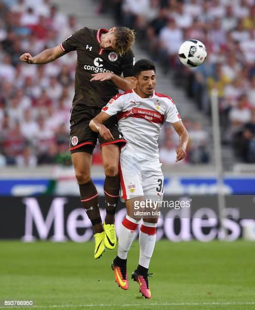 Fussball 1 Bundesliga Saison 2016/2017 1 Spieltag VfB Stuttgart FC Bayern Muenchen Lasse Sobiech gegen Berkay Oezcan