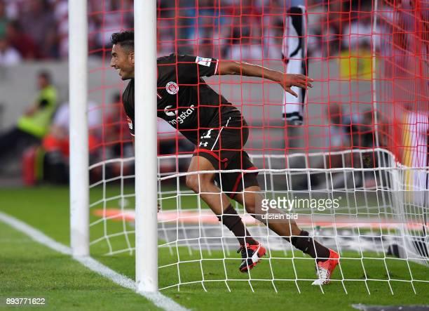 Fussball 1 Bundesliga Saison 2016/2017 1 Spieltag VfB Stuttgart FC Bayern Muenchen Torschuetze zum 01 Aziz Bouhaddouz