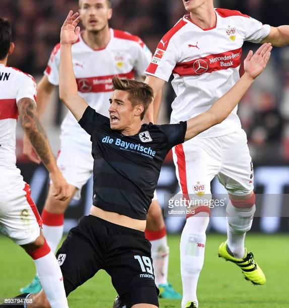 Fussball 1 Bundesliga Saison 2016/2017 10 Spieltag VfB Stuttgart 1860 Muenchen Florian Neuhaus enttaeuscht
