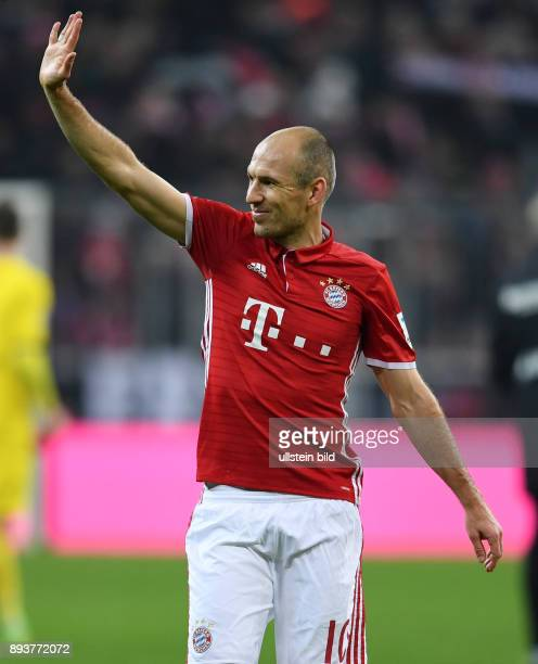 Fussball 1 Bundesliga Saison 2016/2017 12 Spieltag FC Bayern Muenchen Bayer 04 Leverkusen Bayern Muenchen Arjen Robben
