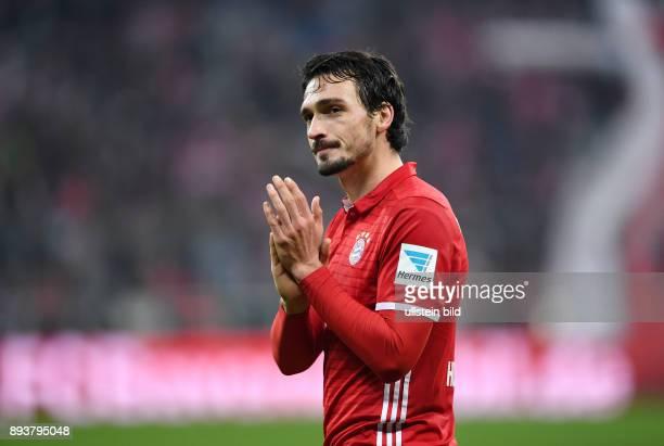 Fussball 1 Bundesliga Saison 2016/2017 12 Spieltag FC Bayern Muenchen Bayer 04 Leverkusen Mats Hummels