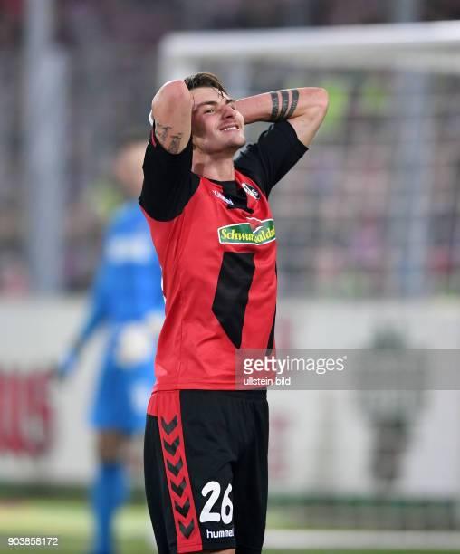 Fussball 1 Bundesliga Saison 2016/2017 20 Spieltag SC Freiburg 1 FC Koeln Maximilian Philipp