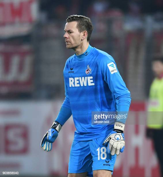 Fussball 1 Bundesliga Saison 2016/2017 20 Spieltag SC Freiburg 1 FC Koeln Torwart Thomas Kessler