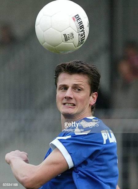 Fussball 2 Bundesliga 03/04 Ahlen LR Ahlen VfB Luebeck 11 Reiner PLASSHENRICH / Luebeck 110404