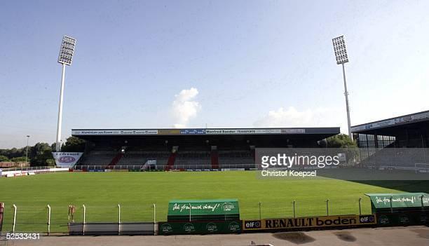 Fussball 2 Bundesliga 04/05 Essen RW Essen GeorgMelches Stadion Ansicht 060704