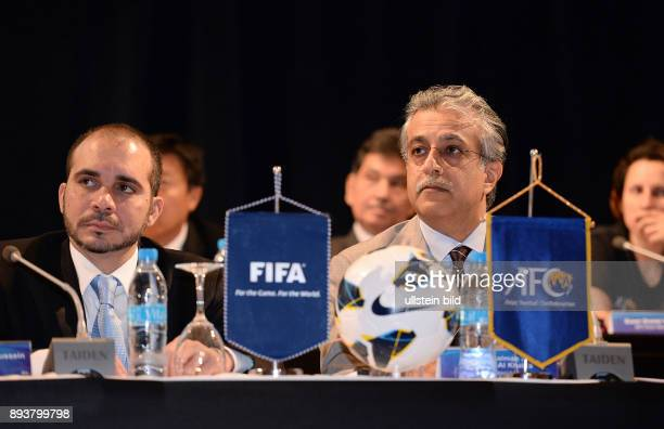 Fussball 63 FIFA Kongress auf Mauritius 2013 AFC Konfederation Meeting Praesident Scheich Salman Bin Ibrahim AL KHALIFA und Vize Praesident HRH Prinz...
