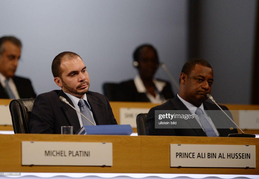 FUSSBALL 63. FIFA  Kongress auf Mauritius 2013 : News Photo