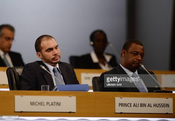 Fussball 63 FIFA Kongress auf Mauritius 2013 Vizepraesident HRH Prinz Ali BIN AL HUSSEIN und Vizepraesident Jeffrey WEBB