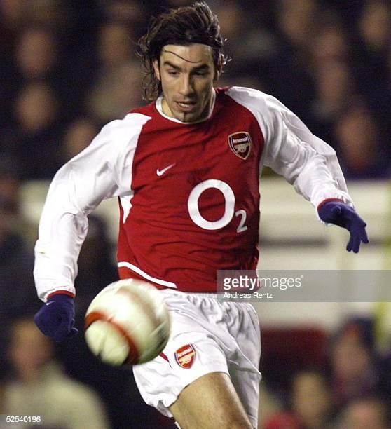 Fussball Champions League 03/04 Londeon Arsenal London Celta de Vigo 20 Robert PIRES / Arsenal 100304