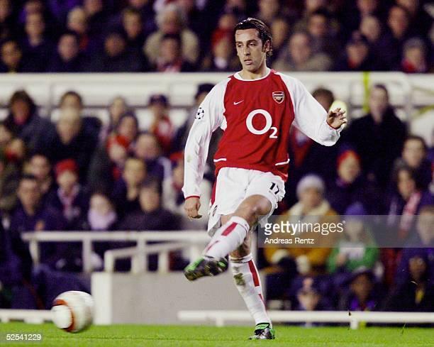 Fussball Champions League 03/04 Londeon Arsenal London Celta de Vigo 20 EDU / Arsenal 100304