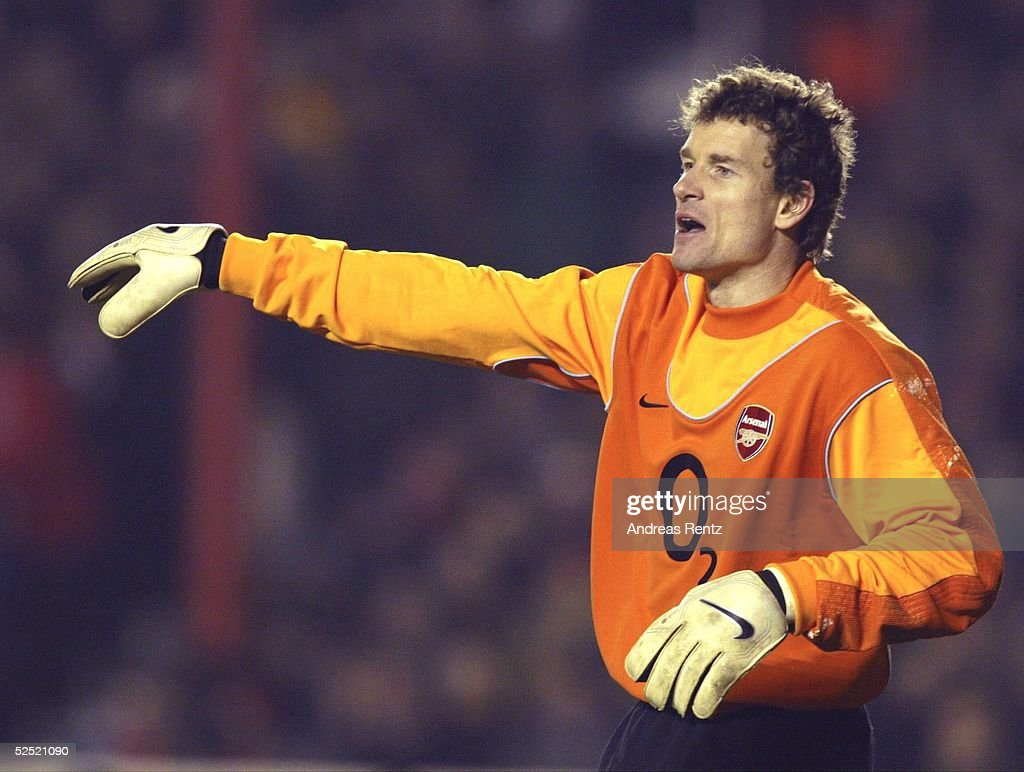 Champions League 03/04, London; Arsenal London - Celta de Vigo; Torwart Jens LEHMANN / Arsenal 10.03.04.