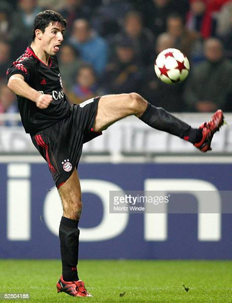 Fussball Champions League 04/05 Amsterdam Ajax Amsterdam FC Bayern Muenchen 22 Roy MAKAAY / Bayern 081204