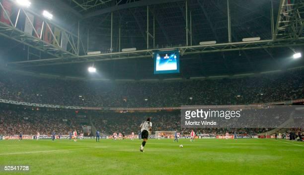 Fussball: Champions League 04/05, Amsterdam; Ajax Amsterdam - Juventus Turin 0:1; Uebersicht der Amsterdam Arena 15.09.04.