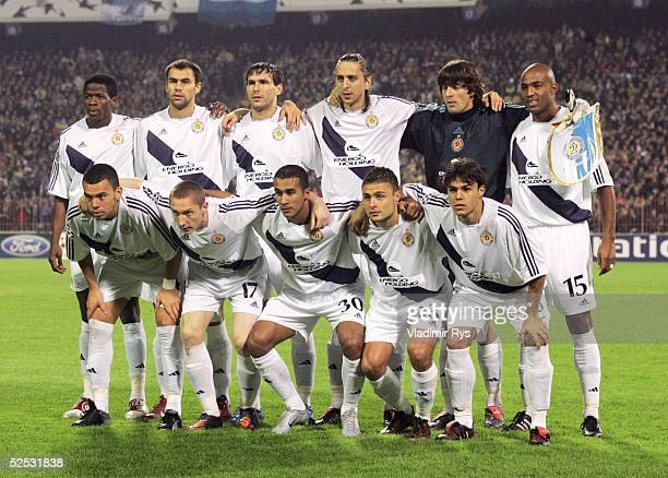 Fussball Champions League 04/05 Kiew Dynamo Kiew Bayer 04 Leverkusen 42 Team Kiew 280904