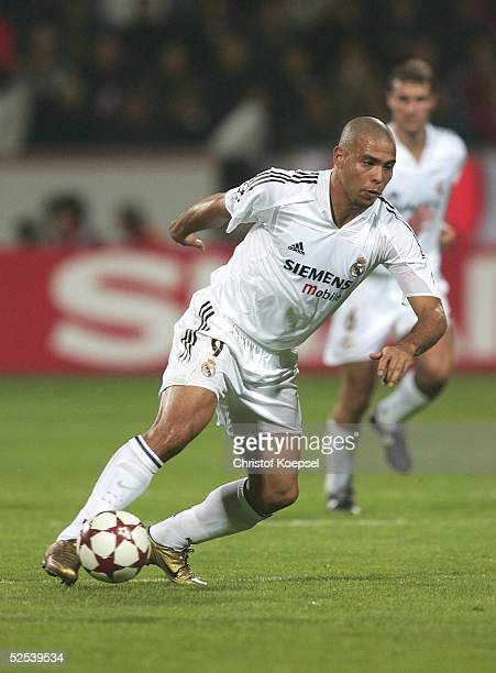 Fussball Champions League 04/05 Leverkusen Bayer 04 Leverkusen Real Madrid 30 RONALDO / Madrid 150904