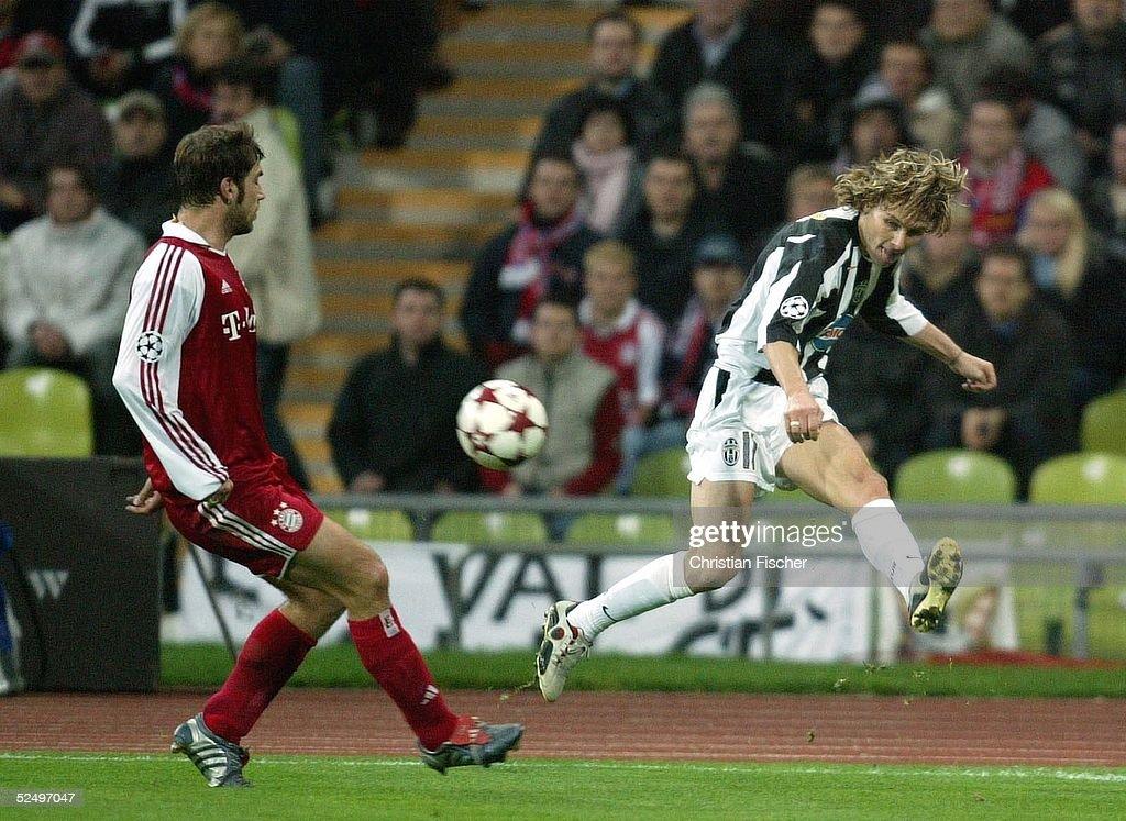 FB: CL 04/05, FC Bayern Muenchen-Juventus Turin : News Photo