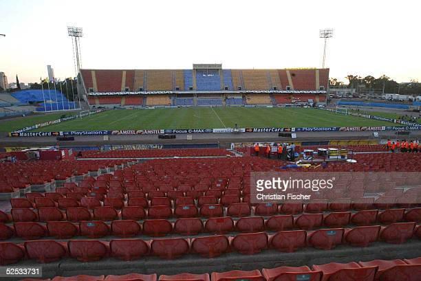 Fussball: Champions League 04/05, Tel Aviv; Maccabi Tel Aviv - FC Bayern Muenchen 0:1; Ramat - Gan Stadion in Tela Aviv 15.09.04.