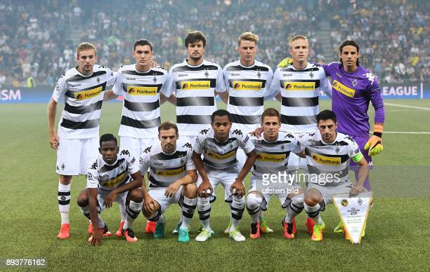 Fussball Champions League Qualifikation Saison 2016/2017 BSC Young Boys Bern Borussia Moenchengladbach Mannschaftsbild Gladbach Christoph Kramer...