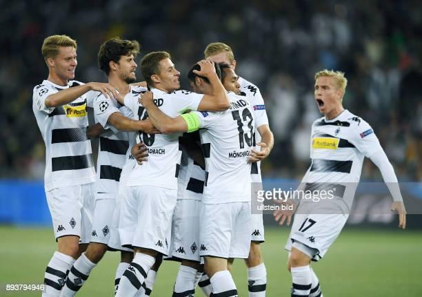 Fussball Champions League Qualifikation Saison 2016/2017 BSC Young Boys Bern Borussia Moenchengladbach Borussia Moenchengladbach Nico Elvedi Tobias...
