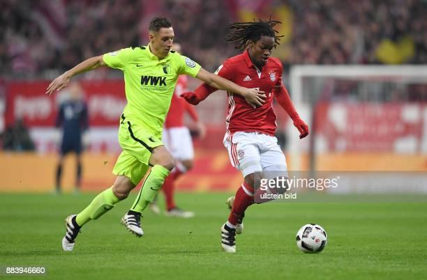 Fussball DFB Pokal 2 Runde Saison 2016/2017 FC Bayern Muenchen FC Augsburg Dominik Kohr gegen Renato Sanches