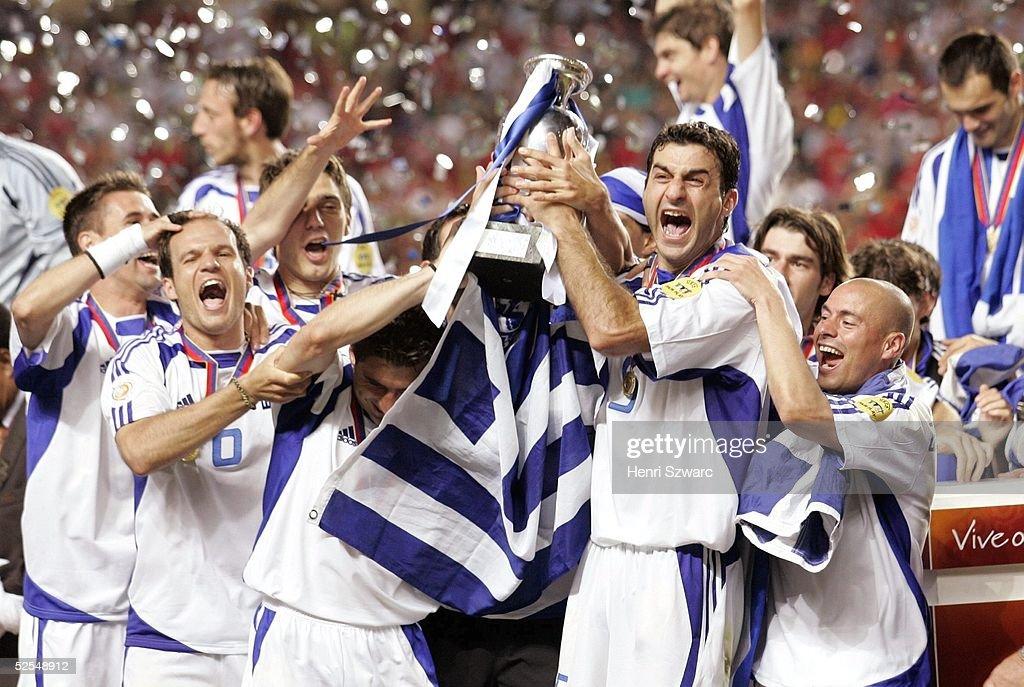 Fussball: EM 2004 in Portugal Finale POR-GRE 0:1 : News Photo