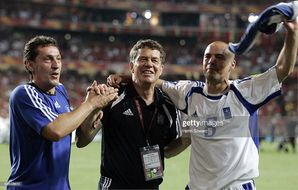 Fussball: EM 2004 in Portugal Finale POR-GRE 0:1 : News Photo