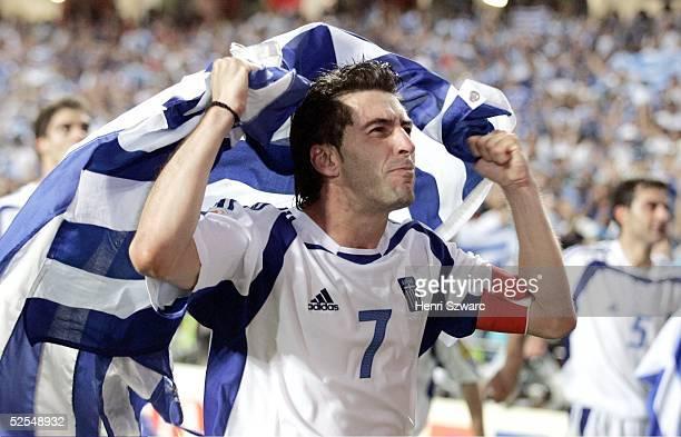 Griechenland Europameister 2004; Theodoros ZAGORAKIS / GRE 04.07.04.