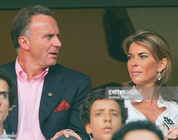 Karl-Heinz RUMMENIGGE mit seiner Frau Martina 16.06.04.