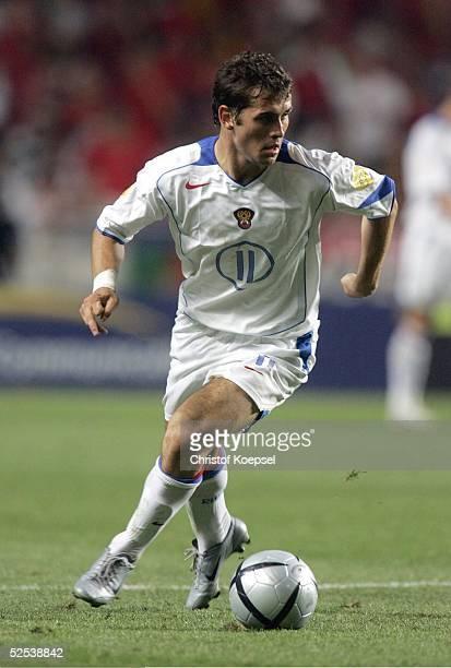 Fussball Euro 2004 in Portugal Vorrunde / Gruppe A / Spiel 10 Lissabon Russland Portugal 02 Alexander KERZHAKOV / RUS 160604