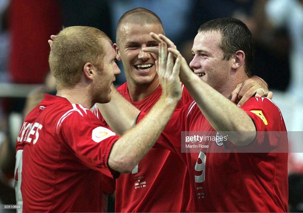 Fussball: EM 2004 in Portugal, CRO-ENG : News Photo