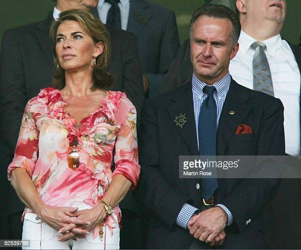 Karl-Heinz RUMMENIGGE mit Frau Martina 15.06.04.