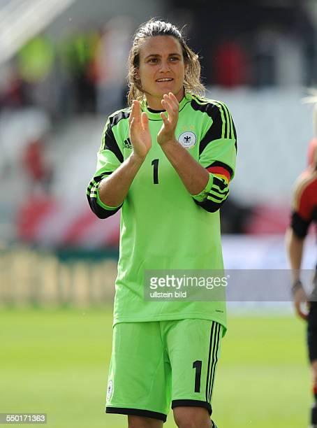 Fussball, Frauen Nationalmannschaft, Freundschaftsspiel, Deutschland - Schottland 3-0, Torhüterin Nadine Angerer