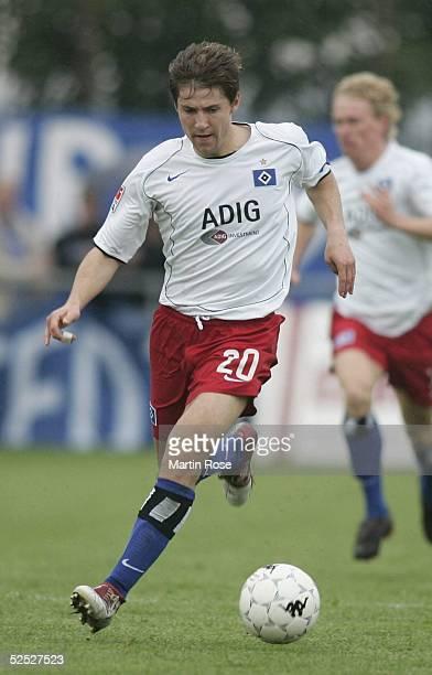 Fussball Freundschaftsspiel 2004 Faaborg Hamburger SV FC Kopenhagen 10 Vyacheslav HLEB / HSV 110704