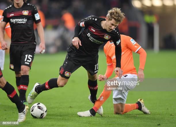 Fussball GER 1 Bundesliga Saison 2016 2017 10 Spieltag Stefan Kiessling Stefan Kießling li gegen Mario Vrancic