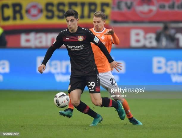 Fussball GER 1 Bundesliga Saison 2016 2017 10 Spieltag Kai Havertz li gegen Immanuel Hoehn Immanuel Höhn