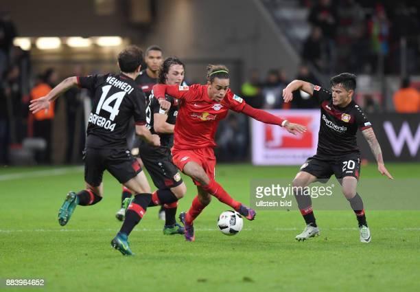 Fussball GER 1 Bundesliga Saison 2016 2017 11 Spieltag vre Charles Aranguiz Yussuf Poulsen Julian Baumgartlinger Admir Mehmedi