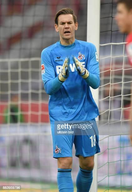 Fussball GER 1 Bundesliga Saison 2016 2017 11 Spieltag Borussia Moenchengladbach 1 FC Koeln 12 Torwart Thomas Kessler