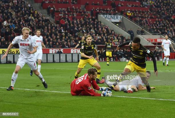 Fussball GER 1 Bundesliga Saison 2016 2017 14 Spieltag PierreEmerick Aubameyang Pierre Emerick Aubameyang re scheitert an Torwart Thomas Kessler