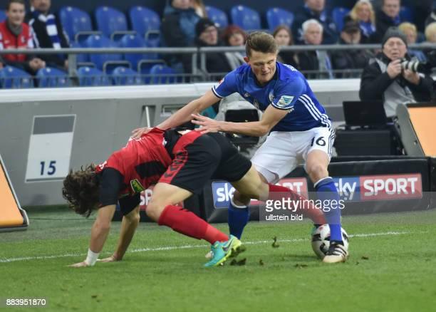 Fussball GER 1 Bundesliga Saison 2016 2017 15 Spieltag Fabian Reese re gegen Caglar Soeyuencue Caglar Söyüncü Soyuncu
