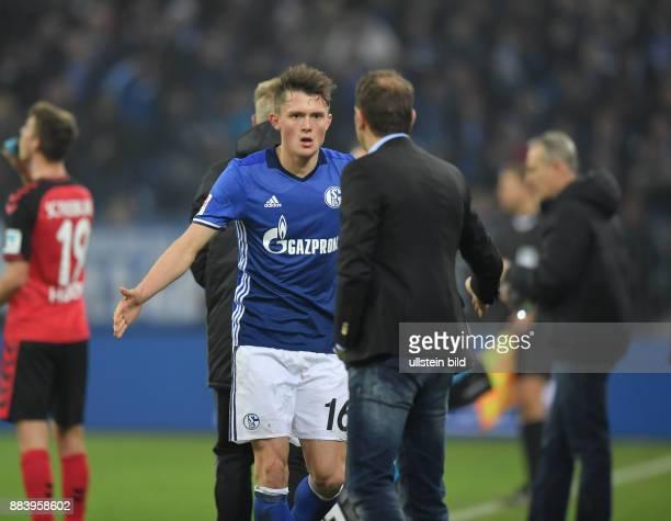 Fussball GER 1 Bundesliga Saison 2016 2017 15 Spieltag Trainer Markus Weinzierl wechselt Fabian Reese aus