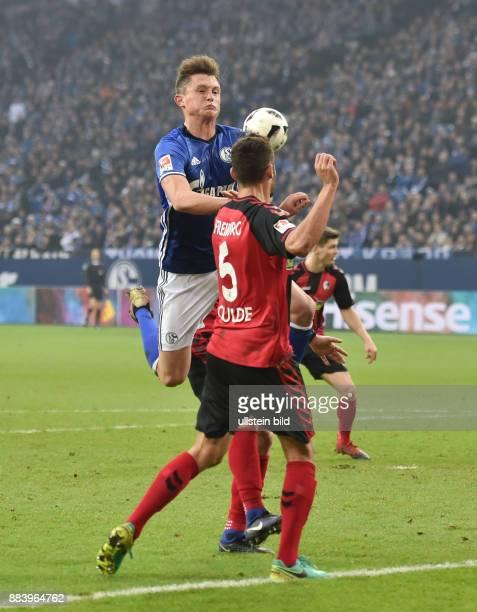 Fussball GER 1 Bundesliga Saison 2016 2017 15 Spieltag Fabian Reese li gegen Manuel Gulde