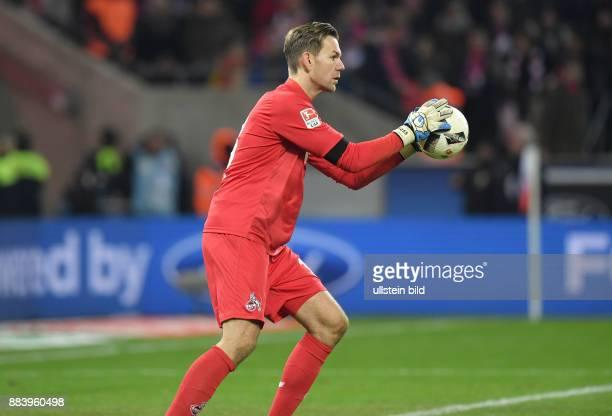 Fussball GER 1 Bundesliga Saison 2016 2017 16 Spieltag Torwart Thomas Kessler