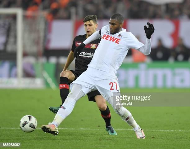 Fussball GER 1 Bundesliga Saison 2016 2017 16 Spieltag Anthony Modeste re gegen Aleksandar Dragovic